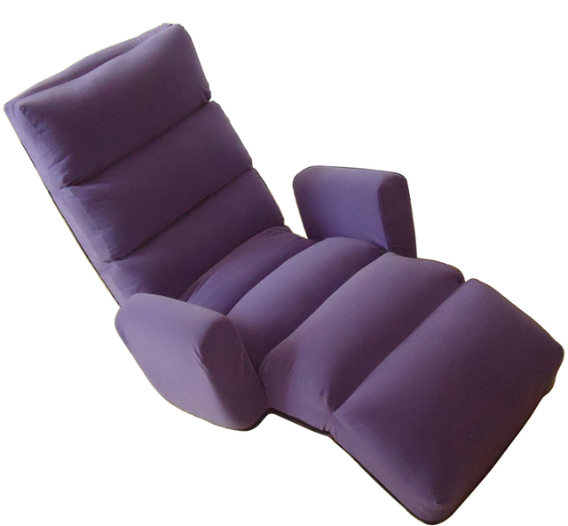 Floor Folding Chaise Lounge Chair Home Living Room Sofa Day Bed ...