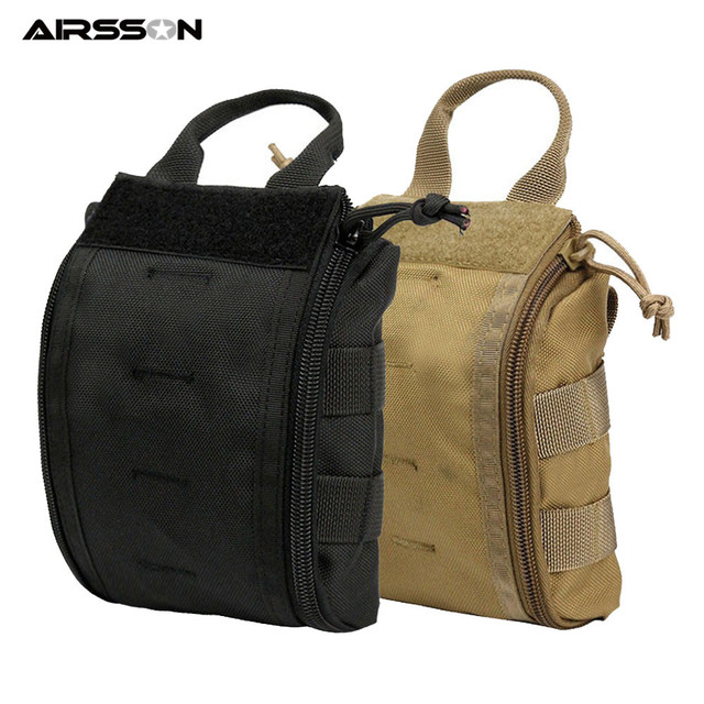 1000D Molle Tactical First Aid Kits Utility Medical Accessory Bag Outdoor Hunting Hiking Survival Modular Medic Bag Pouch 2