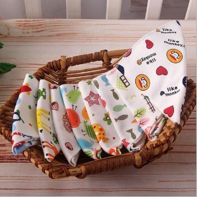 Cotton Newborn Baby Bibs Cute Feeding Bib Baby Nursing Bandana Burp Cloth For Girls And Boys Double Side 2 layers Baby Towel