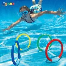 Egoes Υποβρύχια Κολύμβηση και Κατάδυση Πισίνα Παιχνίδι Δαχτυλίδια Play 32030 και Fish-Ring 32031