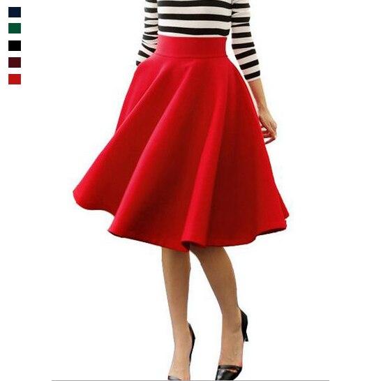get cheap skirts mid length aliexpress