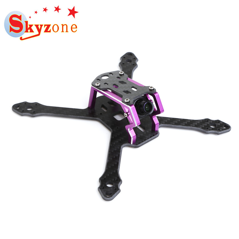 Skyzone Micro 140 140mm FPV Racing RC Drone Frame Kit 3mm Arm Carbon Fiber Multi Rotor Parts for DIY RC Toys Models Accs Parts diy da500 carbon fiber quadcopter frame kit x4 x8 frame set for fpv photography rc frame drone multicopter airplane