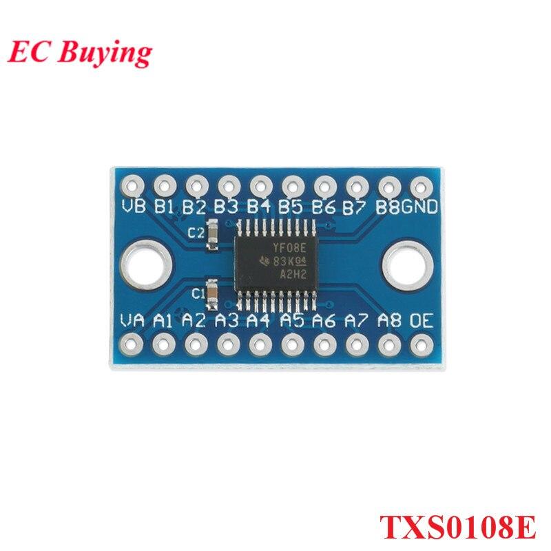 5 шт. TXS0108E 8-канальный модуль преобразователя логического уровня TTL двунаправленный взаимный преобразователь 3,3 В 5 В для Arduino Raspberry Pi TXB0108