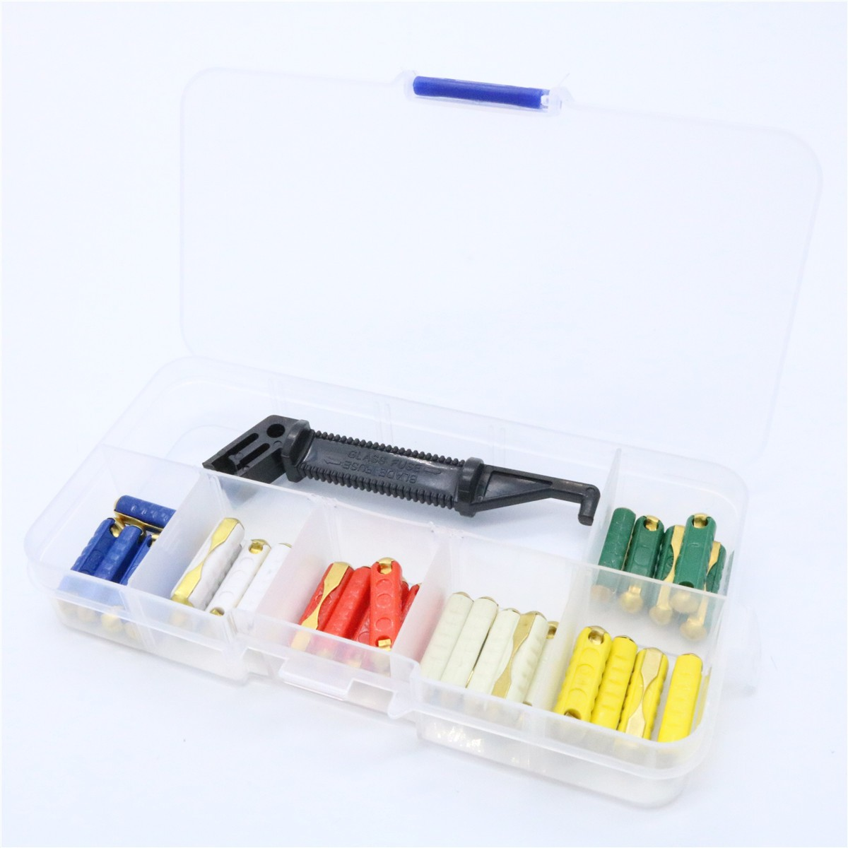 small resolution of 32v european continental car fuse kit fuse puller plastic box assortment auto car accessories accesorios automovil in fuses from automobiles motorcycles