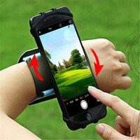 180 Degrees Rotate Sports Wrist Armband Case For Coque 4 6 Inch Screen Mobile Phone Devices