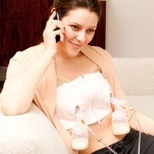 Nursing bra  Maternity Hands free pump bra breast feeding pumping Cotton underwear hands-free breastfeeding bra pregnant women