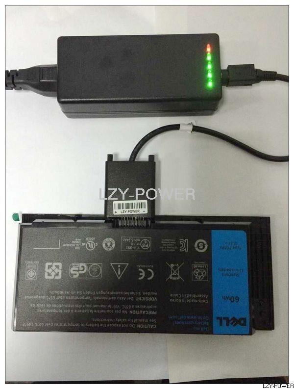 Chargeur de batterie externe d'ordinateur portable pour INSPIRON 10.8 V 11.1 V 9 Broches Batterie Latitude E6220 E6230 E6320 E6320 E6330 E6400 E6410 E6510