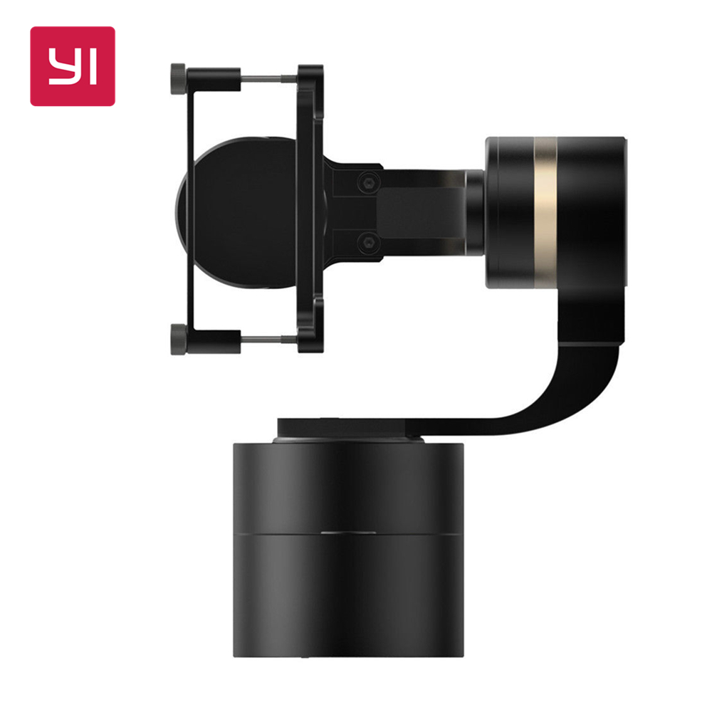 YI Handheld Gimbal 3-Axis Handheld Stabilizer for Action Camera [hk stock][official international version] xiaoyi yi 3 axis handheld gimbal stabilizer yi 4k action camera kit ambarella a9se75 sony imx377 12mp 155‎ degree 1400mah eis ldc sport camera black
