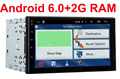 2G RAM 2 din  android 6.0 car dvd gps video player universal x-trail Qashqai x trail juke for nissan dvd gps in dash 3G wifi
