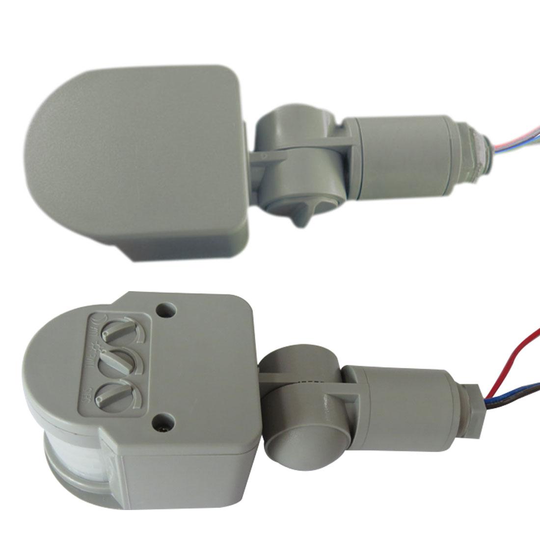 1pcs Motion Sensor Light Switch Outdoor AC 220V Automatic Infrared PIR Motion  Sensor Switch For LED