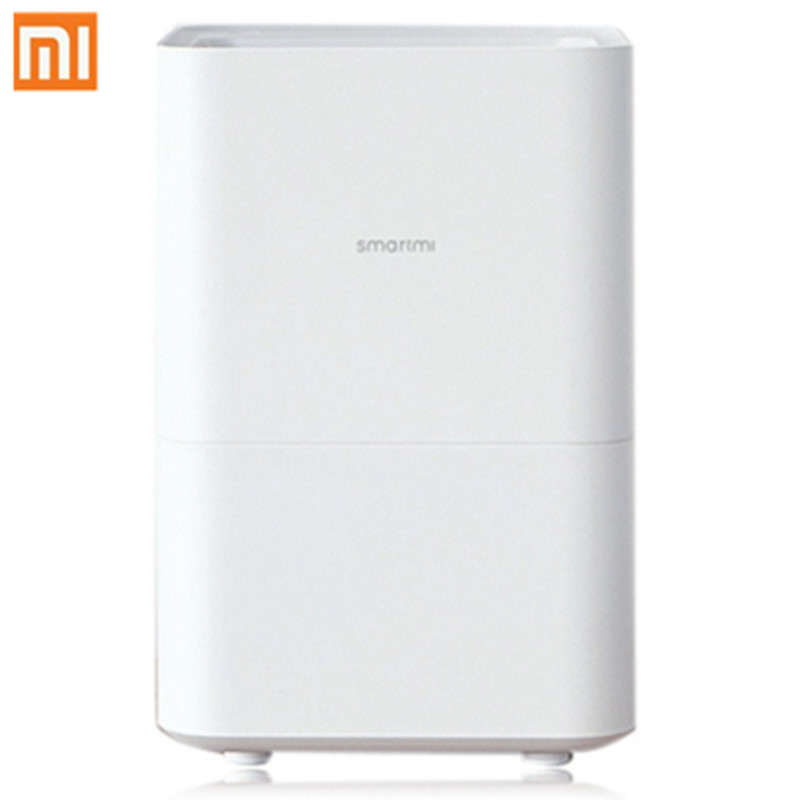 все цены на Original Xiaomi Smartmi Air Humidifier 2 Essential Oil Mijia APP Control 4L Capacity Air Conditioning Appliances For Home онлайн