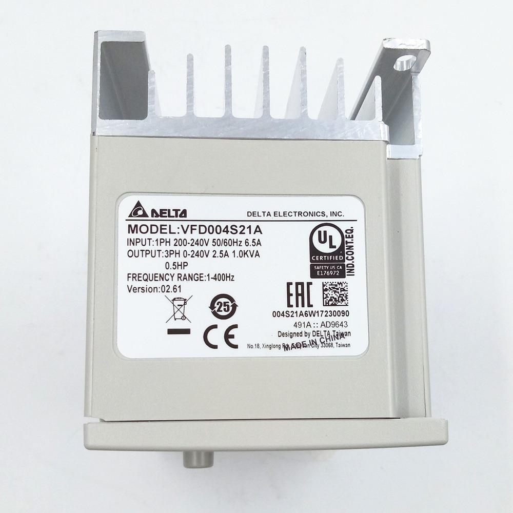 Delta VFD-004S21A Frequency Inverter Drive 1PH 1//2HP 230V