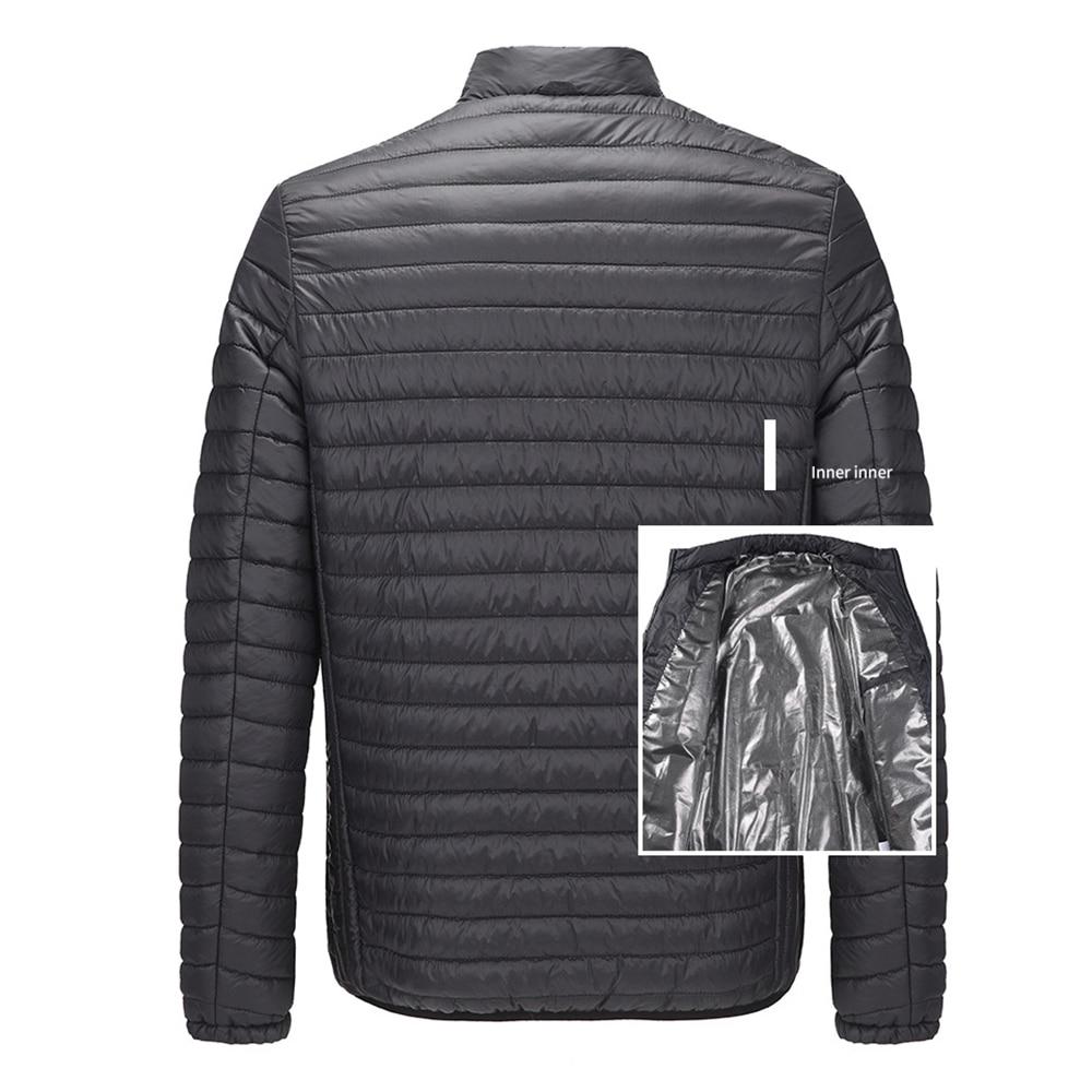 Newest Electric Smart Heated Jacket Waistcoat Warm Coat Feat…