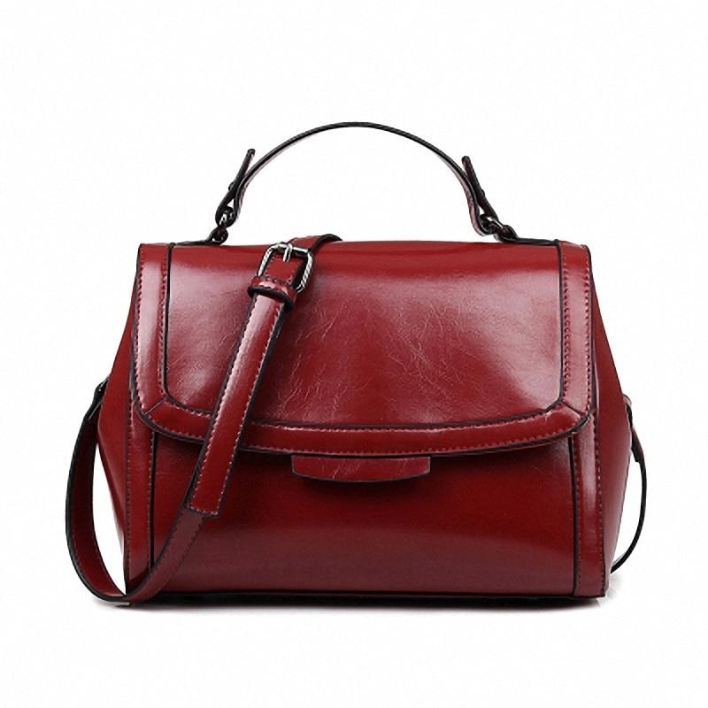 Womens Luxury Genuine Leather Handbags High Quality Famous Brand Solid Women Crossbody Bags V6127 2015 famous brand women bag fashion qiwang genuine leather high quality women totes handbags women solid zipper crossbody bags