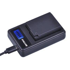Image 5 - 2 шт. DMW BLC12 DMW BLC12E BLC12 Батарея + USB ЖК дисплей Зарядное устройство для цифрового фотоаппарата Panasonic Lumix DMC FZ200,FZ300,FZ1000,FZ2500,G5,G6,G7,GX8,G85