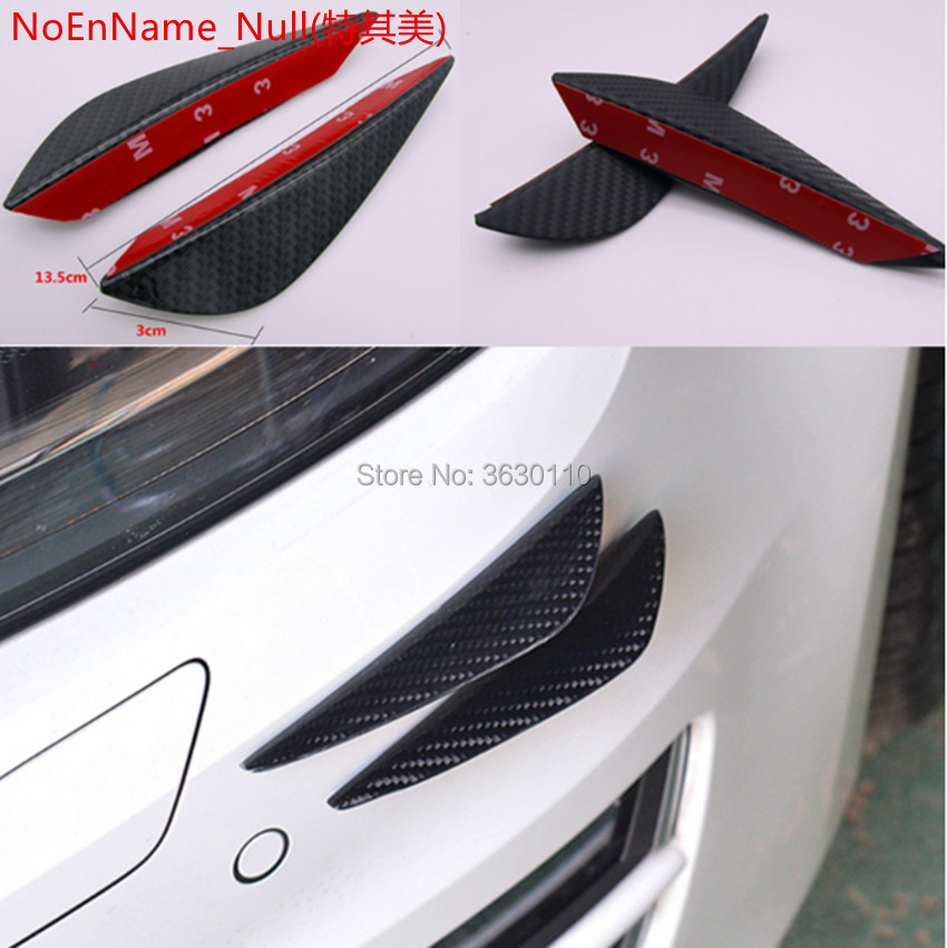 4pcs/set Fit <font><b>Front</b></font> <font><b>Bumper</b></font> lip Splitter Fins Body Spoiler for Volkswagen <font><b>vw</b></font> <font><b>Golf</b></font> 1 2 3 4 5 6 <font><b>7</b></font> mk4 mk5 mk6 mk7 <font><b>Golf</b></font> <font><b>Gti</b></font> image