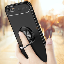 цены на 360 Full Phone Protective Case For iPhone 5S With Ring Cover Bumper On The For Apple For iPhone SE 5 5S Case Soft TPU Shell Capa  в интернет-магазинах