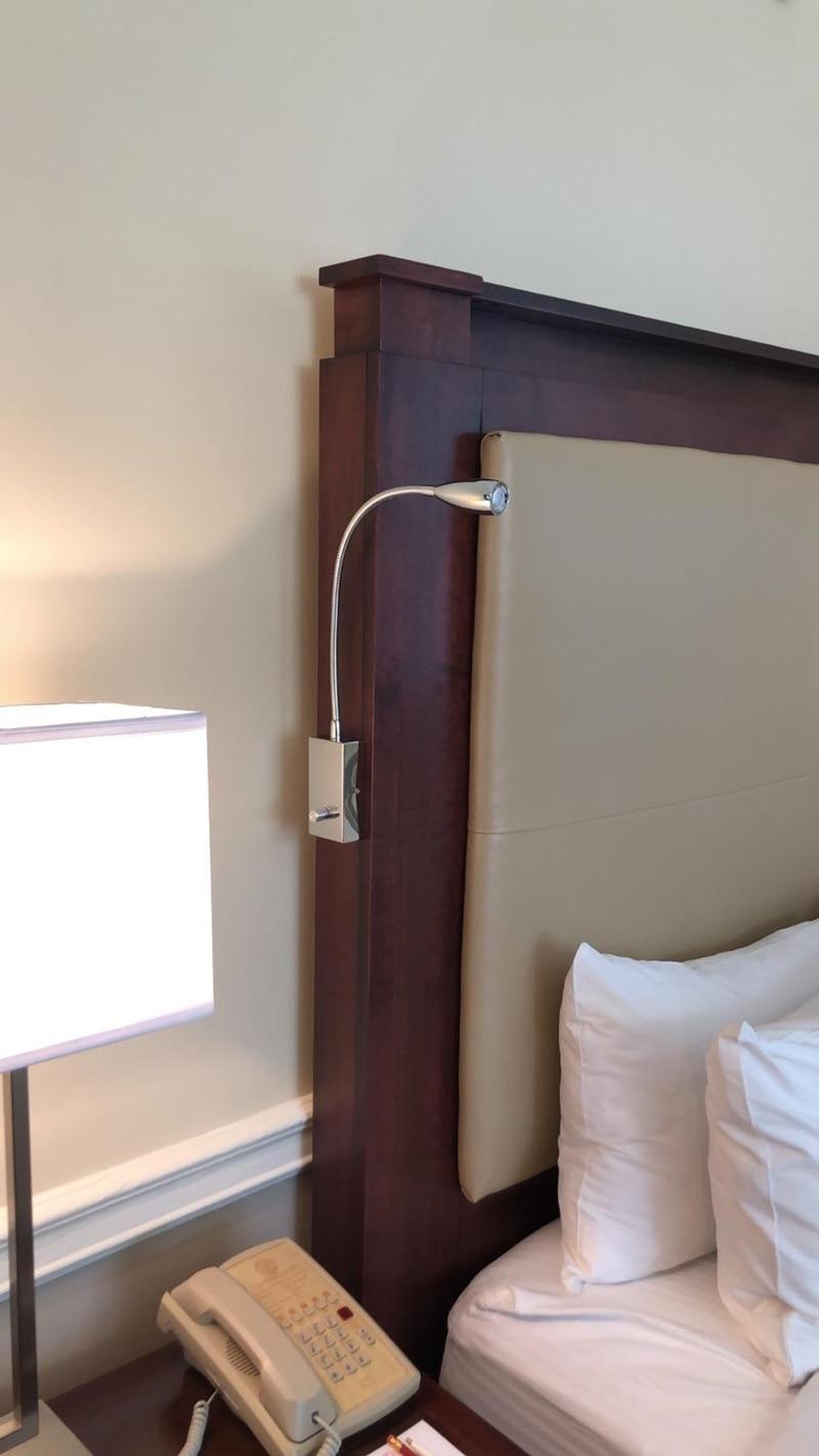 US $28.49 5% OFF|Topoch Schlafzimmer Beleuchtung Ideen Dimmbar Lesen Lampen  Knopf Auf/Off/Dimmer Schalter 3 W LED Fokussierten Beleuchtung für RV ...