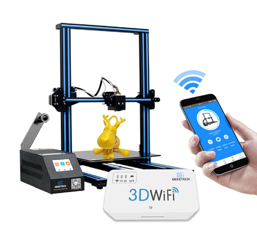 D'origine Geeetech A10M Mélanger-couleur 3D Imprimante 220x220x260mm avec une option 3D wifi module facile Et Opération Commode - 6
