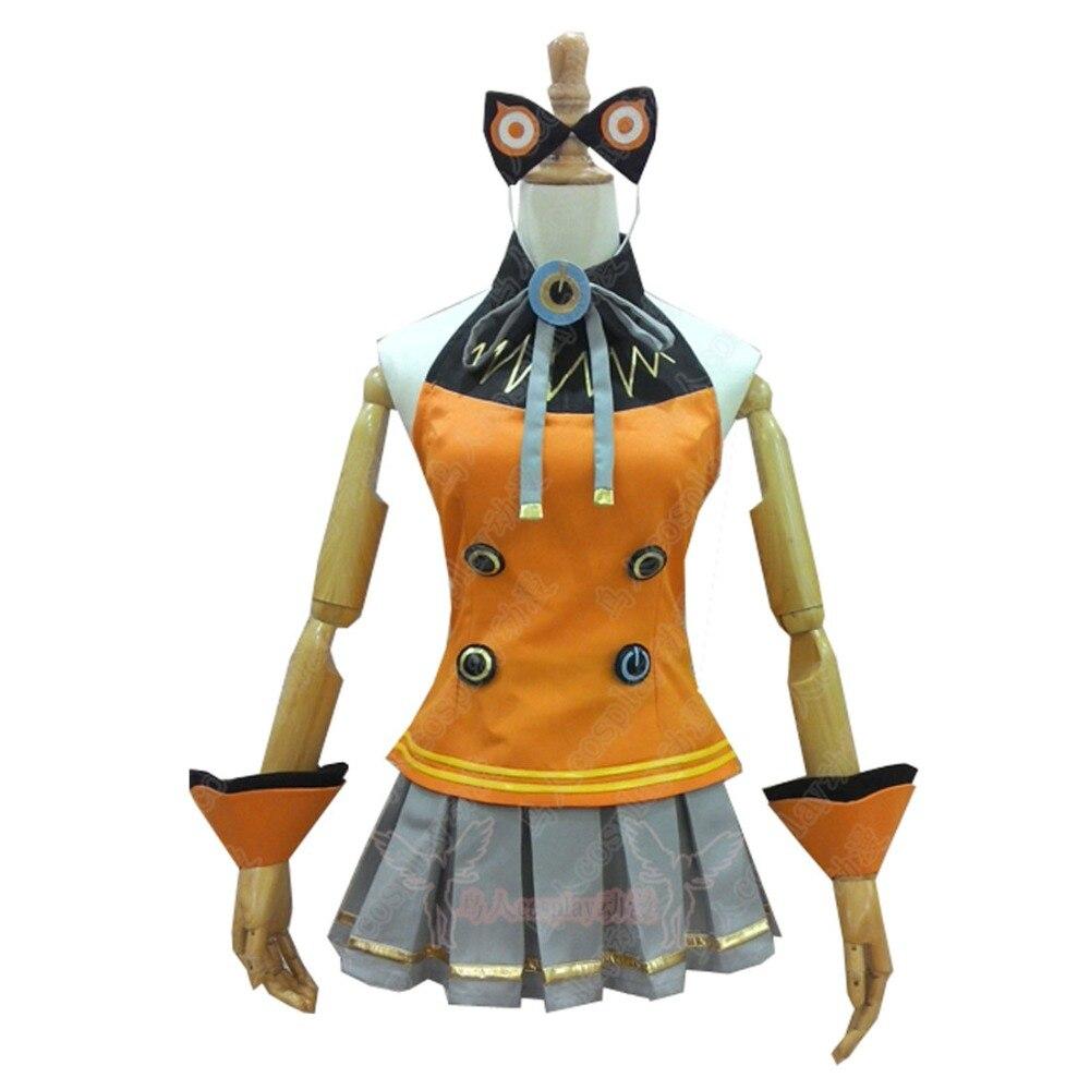 2018 Vocaloid 3 Hatsune Miku SEEU Cosplay Costume