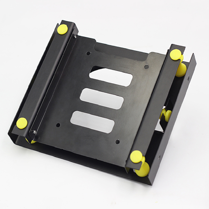 3.5 SATA hard disk <font><b>5.25</b></font> <font><b>Bay</b></font> HDD hard disk shock absorber bracket converter installation kit w/w equipped with 8cm cooling <font><b>fan</b></font> image