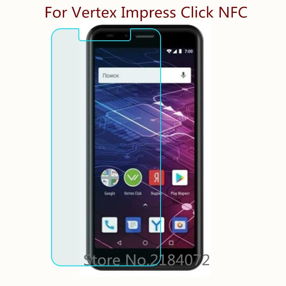 9 H 2.5d Screen Protector Glas Voor Vertex Impress Klik Nfc Gehard Glas Smartphone Front Film Beschermende Scherm