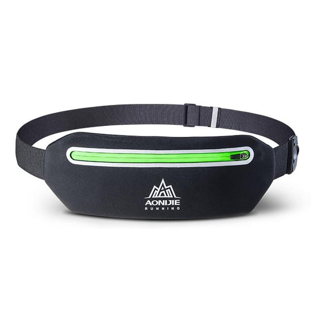 7c1ae66a6860 AONIJIE W922 Running Belt Sport Fitness Running Sport Bag Water Resistant  Waist Pack Men Women Waist