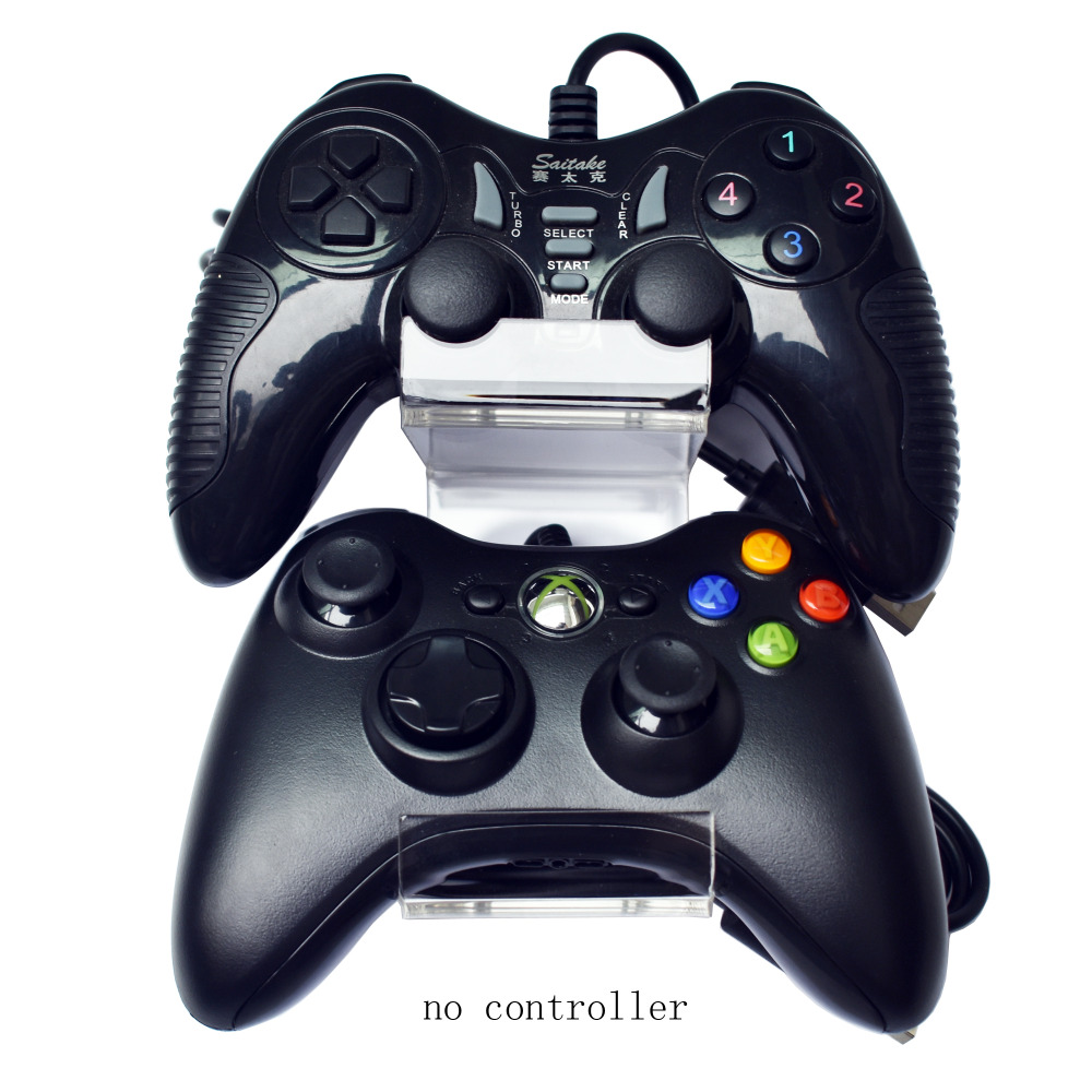 Double-Layer Controller Mount Controller Holder -2/PK - Hold 4 Controllers -No Controller