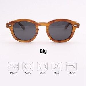 Image 3 - ג וני דפ משקפיים מקוטב משקפי שמש גברים נשים יוקרה מותג עיצוב אצטט בציר סגנון נהג משקפיים למעלה איכות 080 1