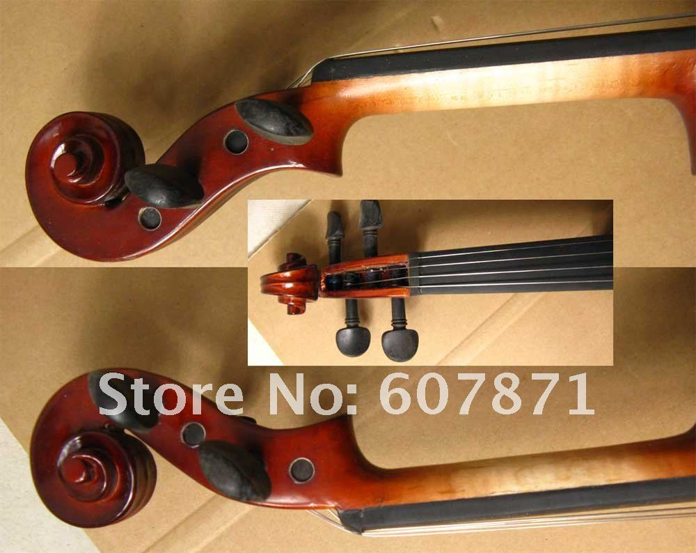 4/4 High quality  Electric violin red 2# 4 4 high quality 5 string electric violin yellow 2 pickup violin