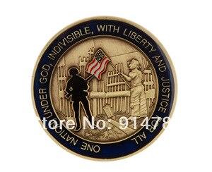 Z nami ku czci i pamiętać, 11 września 2001 r wyzwanie monety-34015