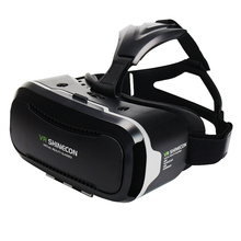 VR Shinecon 2.0 3D Glasses Virtual Reality Smartphone Headset Google Cardboard VR Helmet BOX for Iphone Android 4.7-6′ Phone