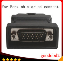 For benz MB STAR C4 SD connect Compact 4 C4 diagnostic tool OBD2 16pin connect adapter car  obdii 16pin connectorcable diagnostic tool mb star c3 rs232 to rs485 cable mb sd connect c3 rs232 to rs485 cable with chip and pcb