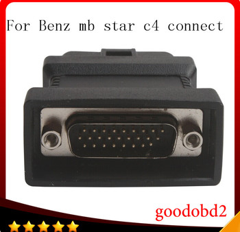 For benz MB STAR C4 SD connect Compact 4 C4 diagnostic tool OBD2 16pin connect adapter car  obdii 16pin connectorcable