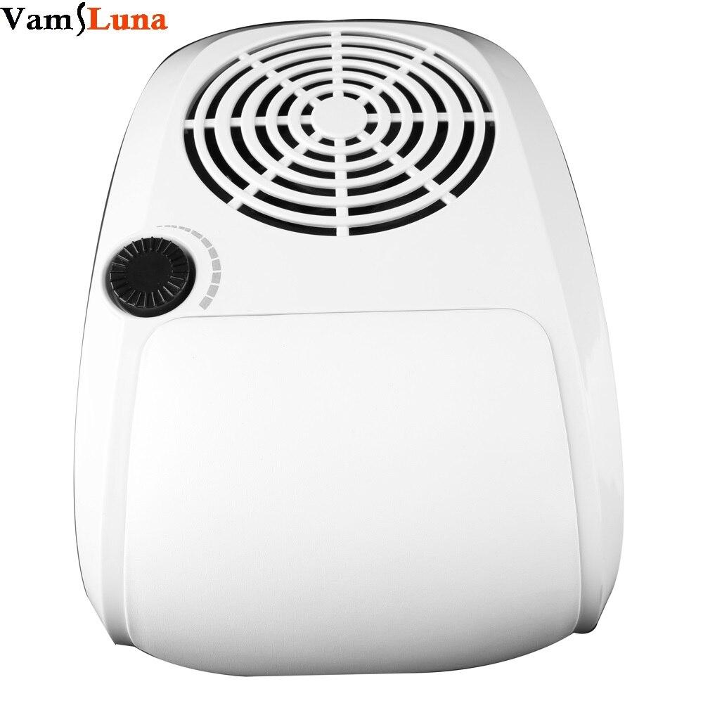 40 W poussière aspiration ventilateur ongles poussière collecteur Nail Art beauté avec 2 sacs manucure outils équipement
