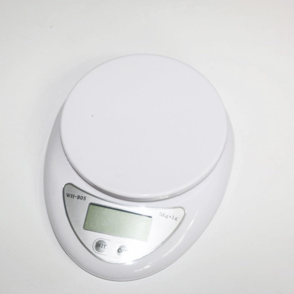 5000g 1g Küche Lebensmittel Elektronische Bewegliche Digitale taschenwaage 5 kg WH-B05