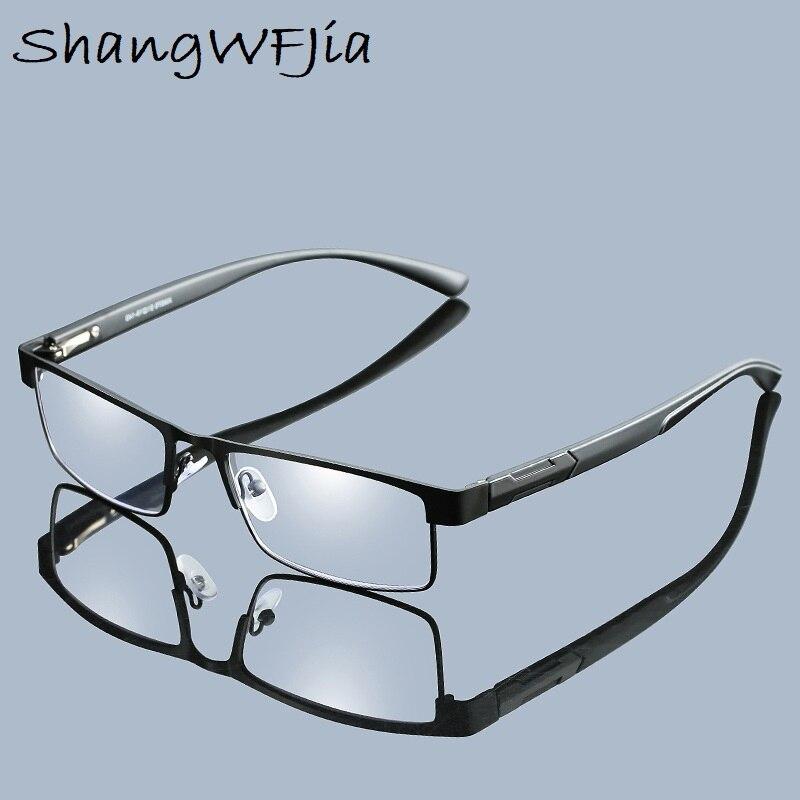 2019 Men Titanium Alloy Reading Glasses Non Spherical Retro Business Hyperopia Prescription Eyeglasses For Female Male Reading