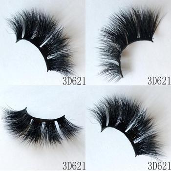 UPS Free Shipping 3000pair/lot Faux Mink Lashes 3D Mink Eyelashes Hand Made Full Strip Lashes Dramatic False Eyelashes Makeup
