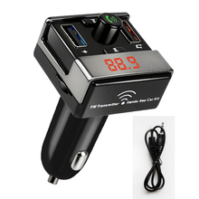 Wi-fi FM Transmitter MP3 Participant Bluetooth Handsfree name Twin USB Charger 2.1A Assist TF Card U disk AUX Bluetooth Automobile Equipment