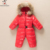 Meninos inverno Grosso Macacão de Bebê Casaco Criança Outwear Snowsuit Menina Para Baixo Crianças Jaqueta de Roupas de Esqui Terno Infantil Macacão Traje