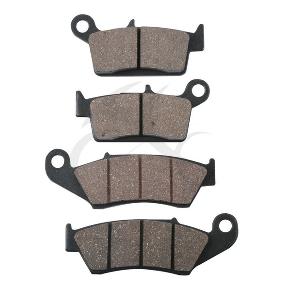 4 PCS Front Rear Brake Pads For HONDA XR400 XR400R XR440R XR600 XR650L XR650R economic bicycle brake pads black 4 pcs