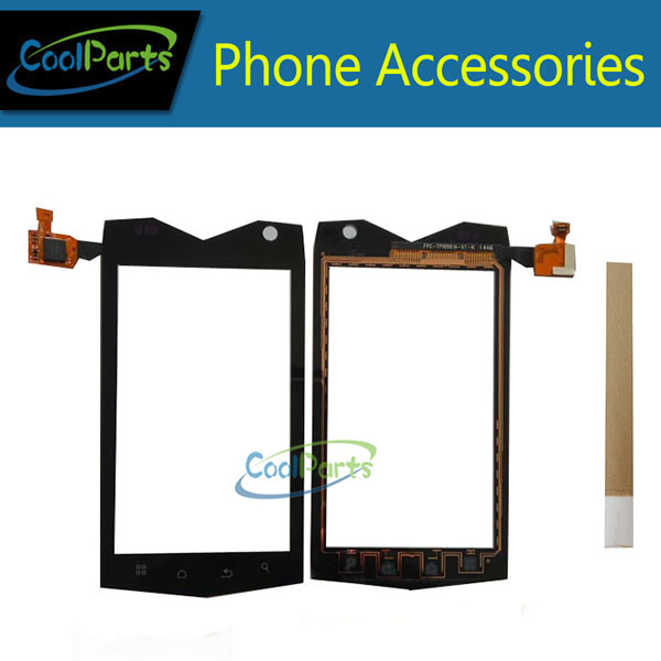 1PC/Lot 4.0'' For Texet TM-4082R TM-4104R TM-4084 X-driver Touch Screen Digitizer Glass Panel With Tape Black Color
