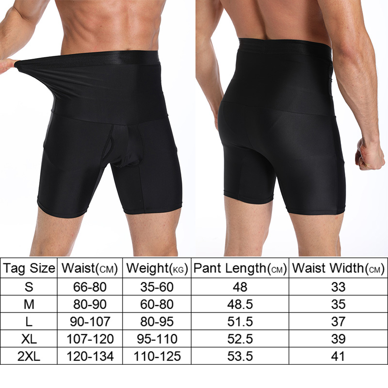 Men Shaper Boxer Breif Shorts Cotton Long Short Control Panties Shaping Pants Fitness Short Pants Shapewear Men Body Shaper in Shapers from Underwear Sleepwears