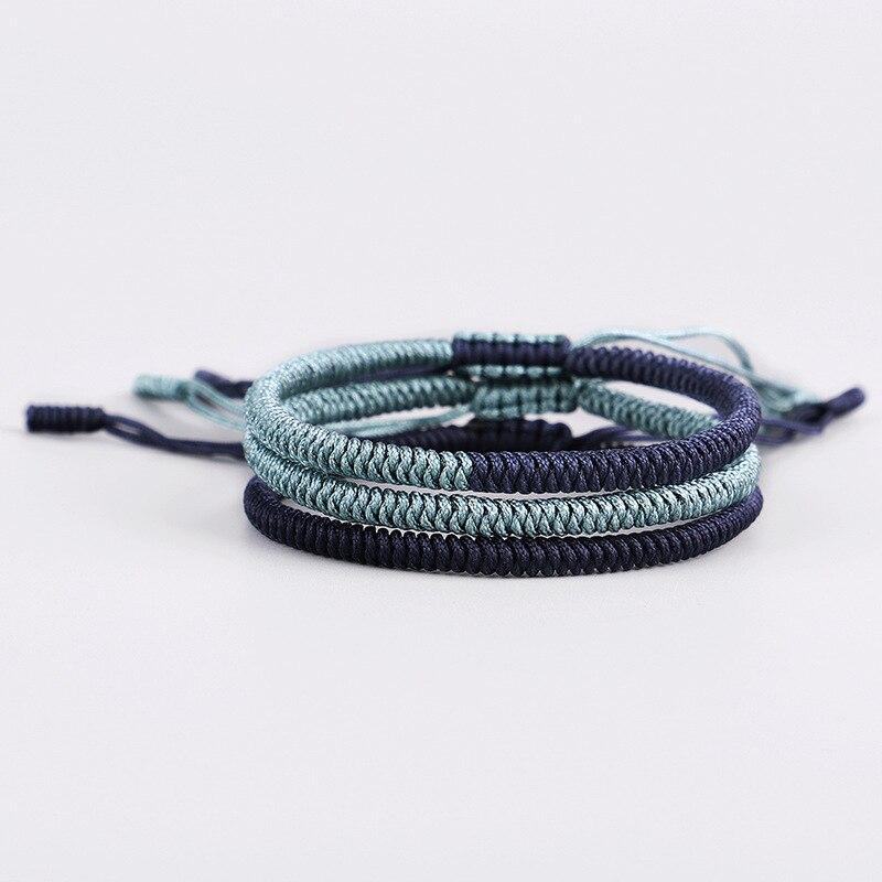 Jewelry & Accessories Steady Handmade Weaved Charm Bracelets & Bangles For Women Man Fashion Lucky Ethnic Hand Jewelry Children Gift Bracelets & Bangles