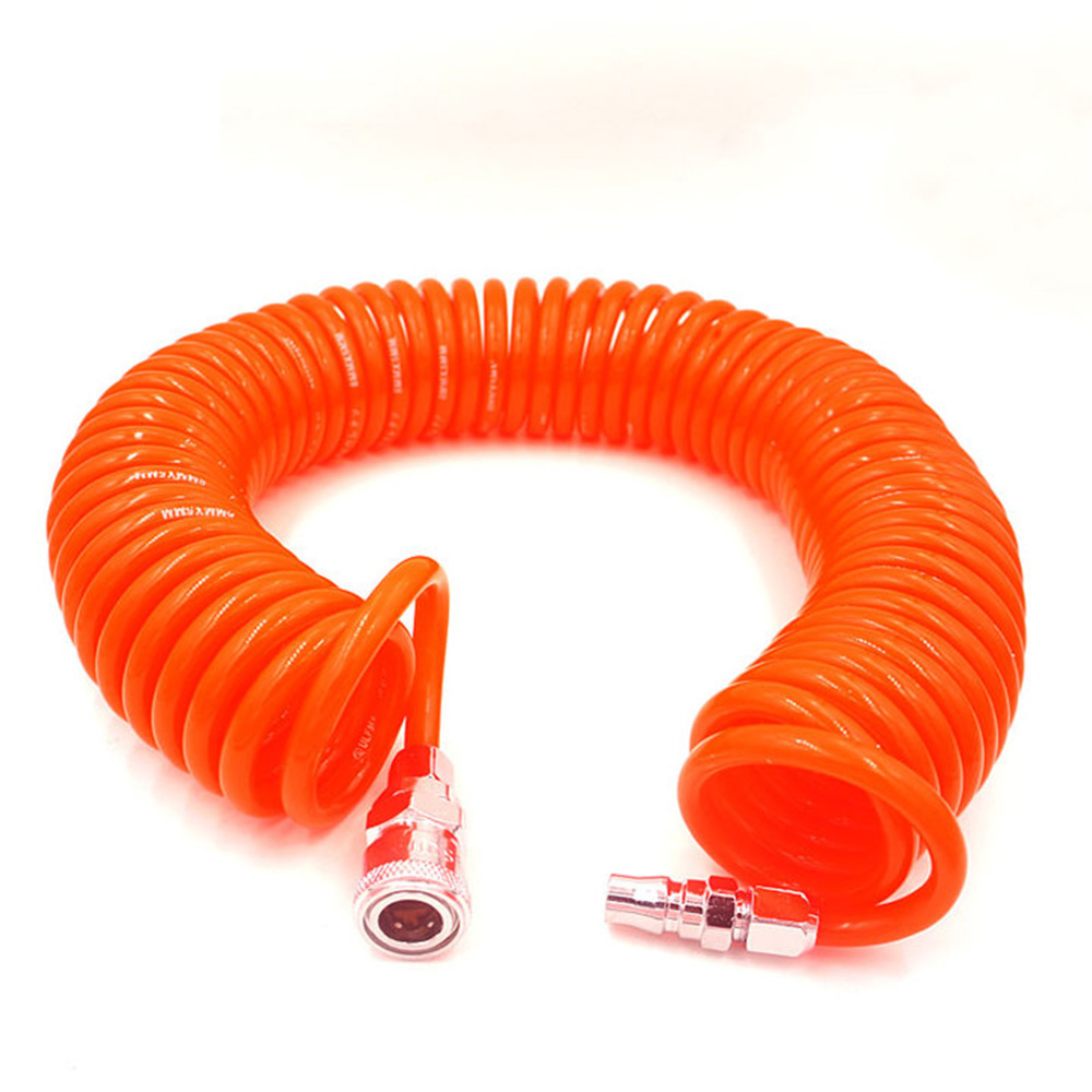 6M/9M/15M Pneumatic Spring Tube 8*5 10*6.5 12*8 Air Pump Air Press Tube PU Spiral The Resistance High Pressure Hose NO Connector6M/9M/15M Pneumatic Spring Tube 8*5 10*6.5 12*8 Air Pump Air Press Tube PU Spiral The Resistance High Pressure Hose NO Connector