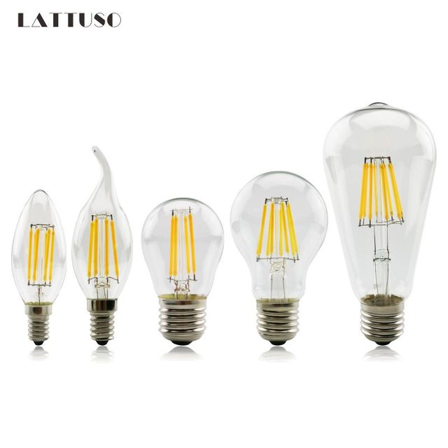 Beautiful Lattuso Stks Led Gloeidraad Licht E Retro Lampen V Led Lamp E W  With Led Lamp Gloeidraad