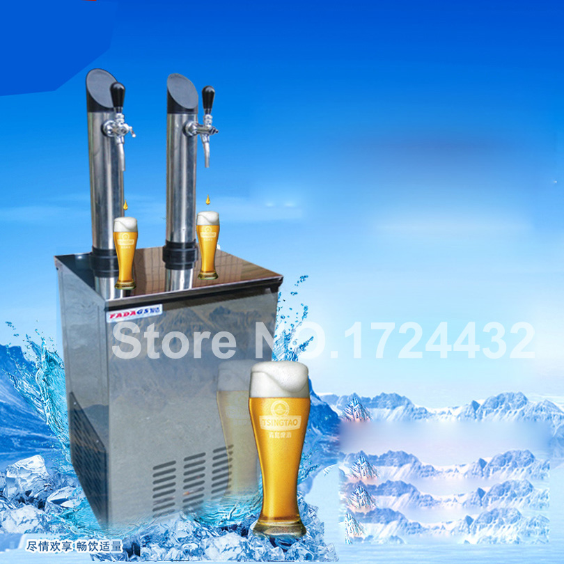 Free Delivery Wine Dispenser Beer Machine & Ice Tube Wine Alcohol Juice Soda Water Soft Drink Dispenser