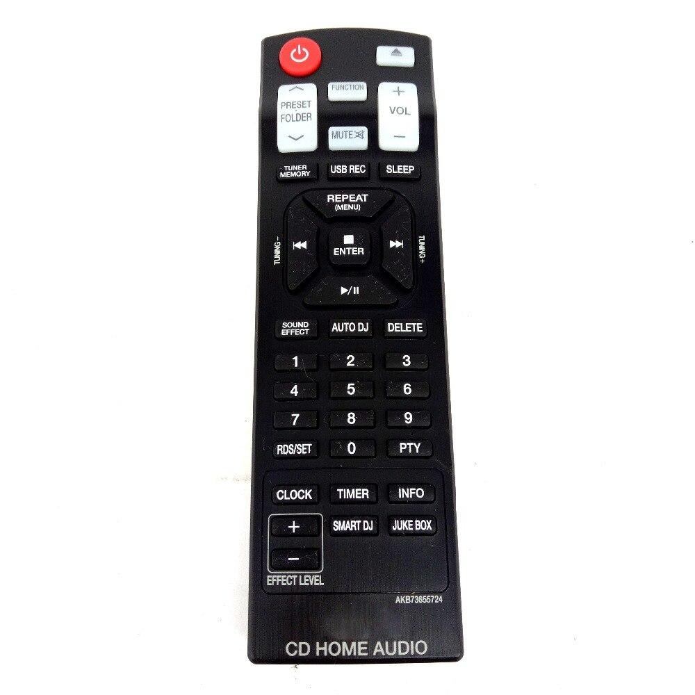 Mando a distancia original para lg akb73655724 cm9730 cd de audio para el hogar
