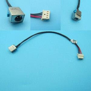 Para Acer Aspire V5 V5-552 V5-552G V5-552P V5-572 V5-572G V5-572P V5-573 E5-573 E5-5 AC DC Power Jack conector do Cabo de Chicote de fios