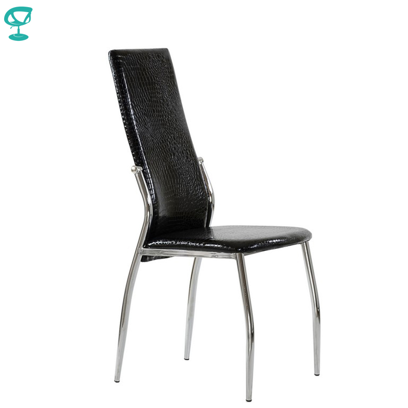 95305 Barneo S-68 Ecoleather Kitchen Furniture Breakfast Interior Stool Chair For Dining Black Crocodile Free Shipping In Russia